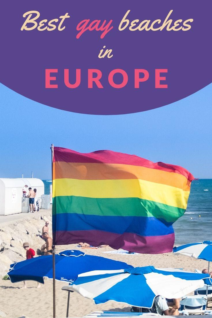 A selection of the best gay beaches in Europe for gay travellers Nomadic Boys for Pinterest