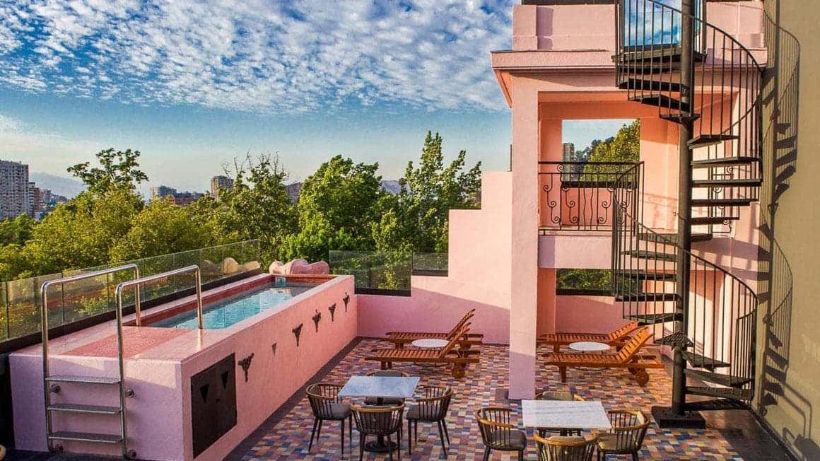 Luciano K hotel gay friendly hotel in chile santiago.