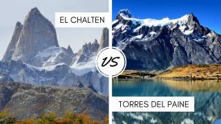 El Chalten in Argentina versus Torres del Paine in Chile - which one should you visit?