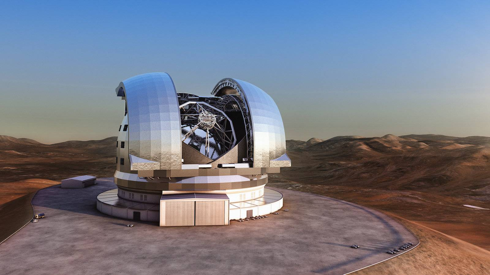 The ELT is set to be the largest telescope in the world once construction in Chile is complete