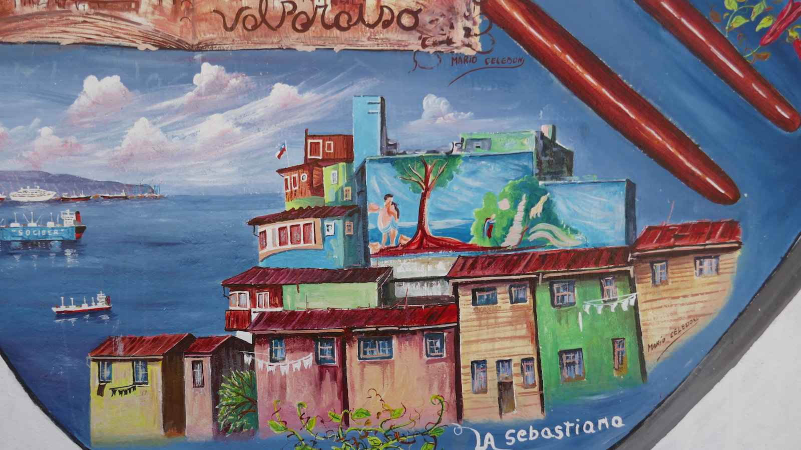 Chile produces excellent poets, including Nobel prize winners Pablo Neruda and Gabriela Mistral