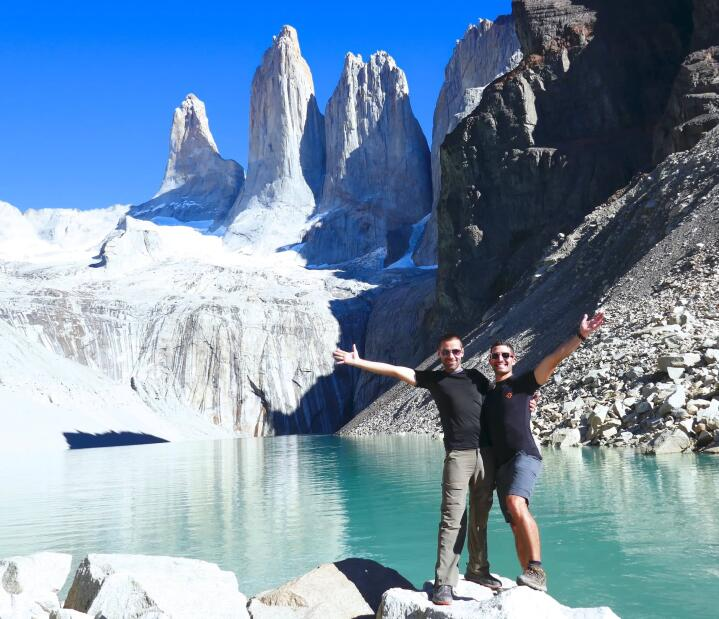 El Chalten or Torres del Paine - towers highlight