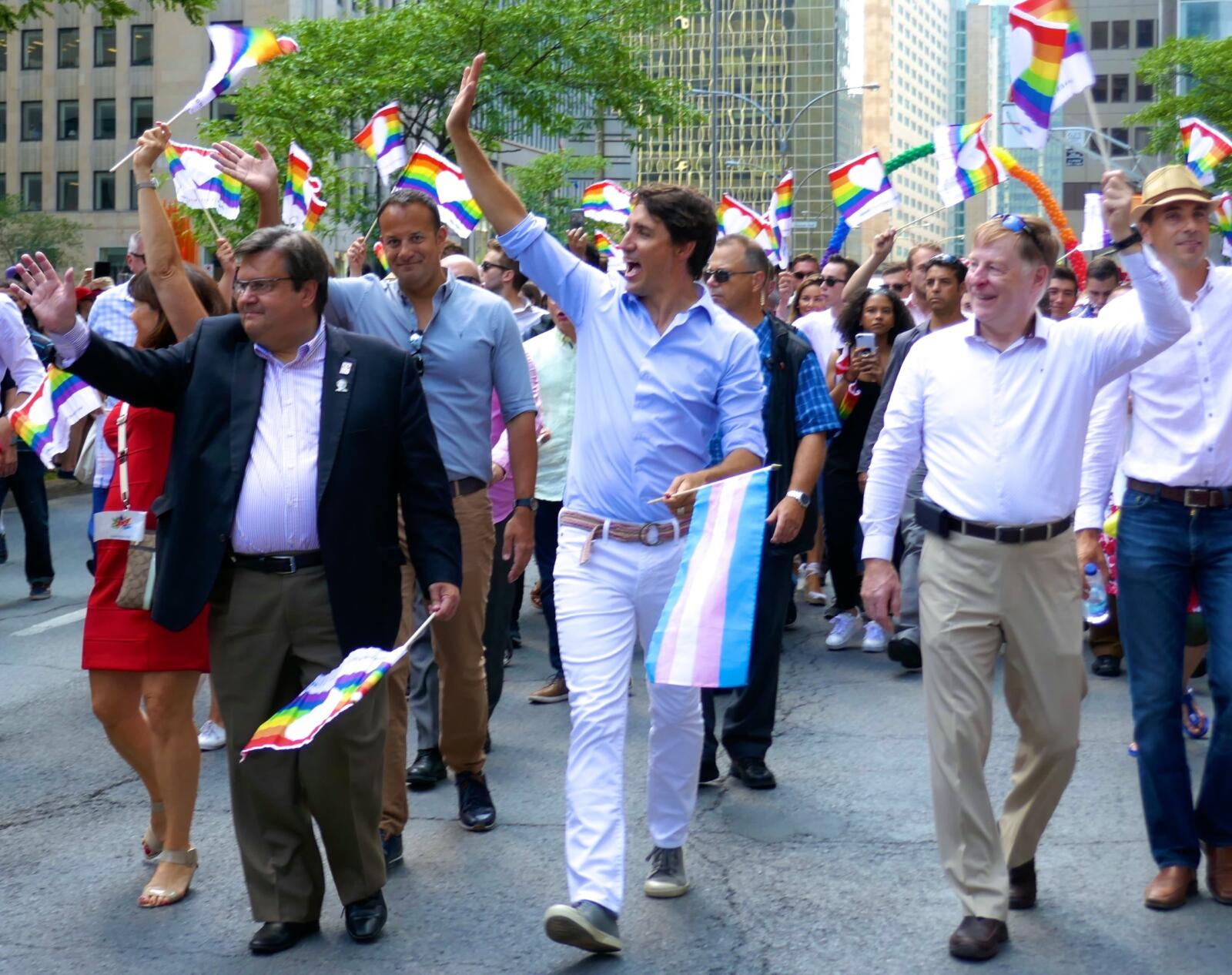 Justin Trudeau Fierte Canada gay events montreal