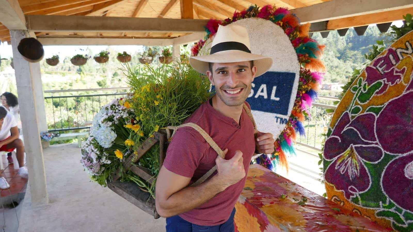 Medellin flower festival silletera farm