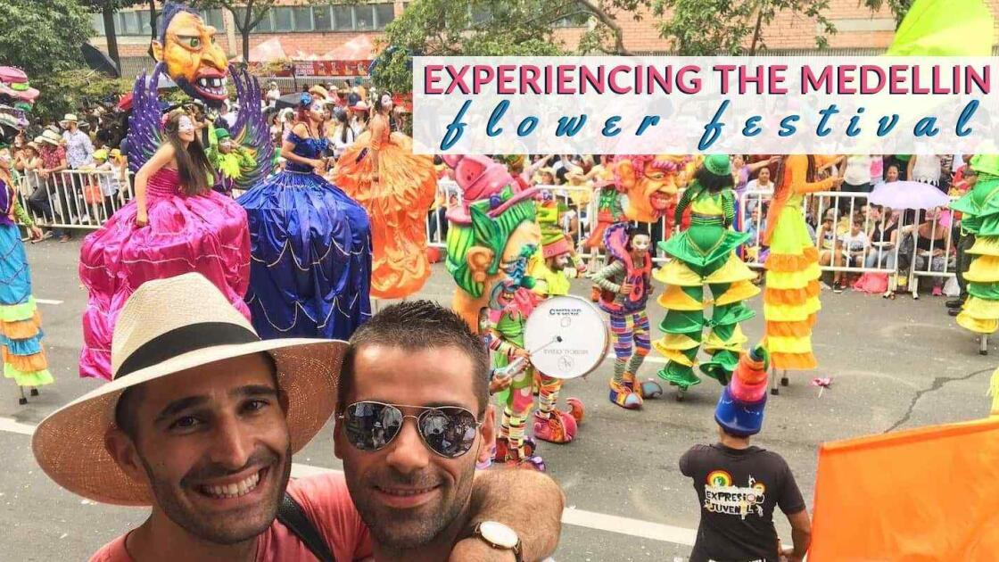 Medellin Flower Festival in Medellin: our experience as a gay couple