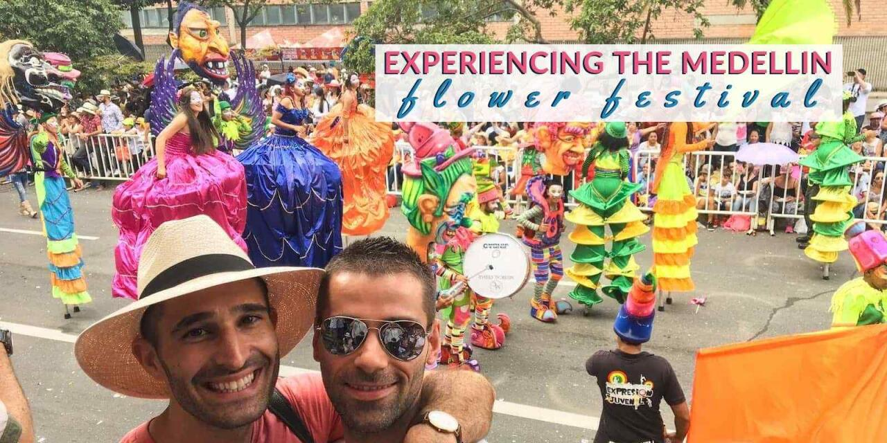 Read all about how to experience the Medellin Flower Festival as a gay couple