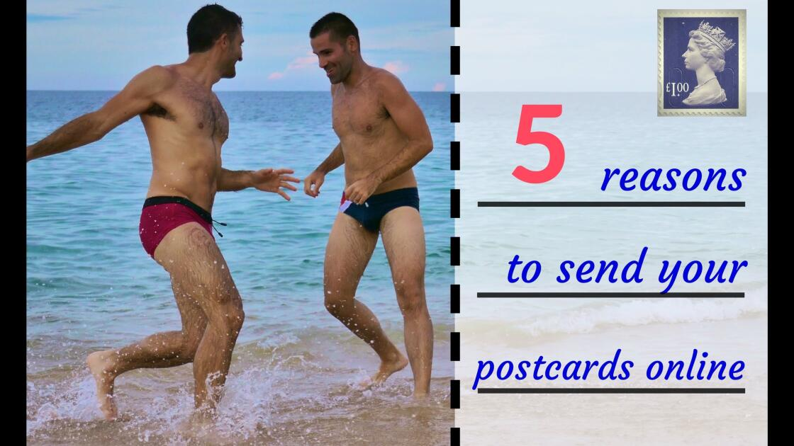 5 reasons to send your postcards online