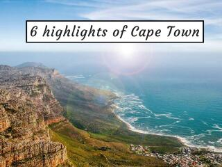 6 highlights of Cape Town cover pic