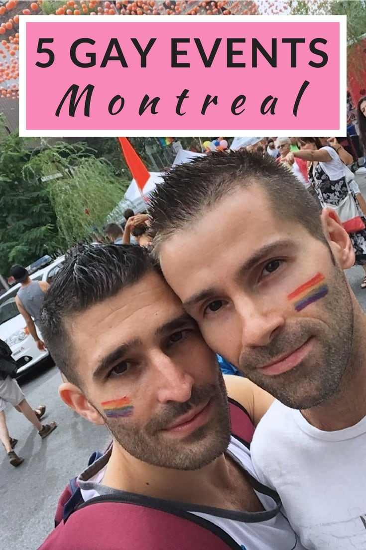 Find out five of the must-experience gay events that take place in fabulous Montreal, Canada