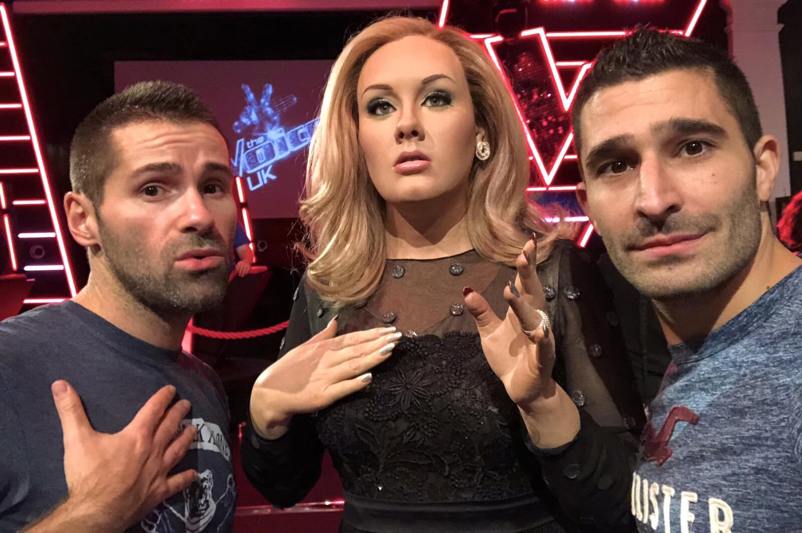 Adele gay icon at Madame Tussauds