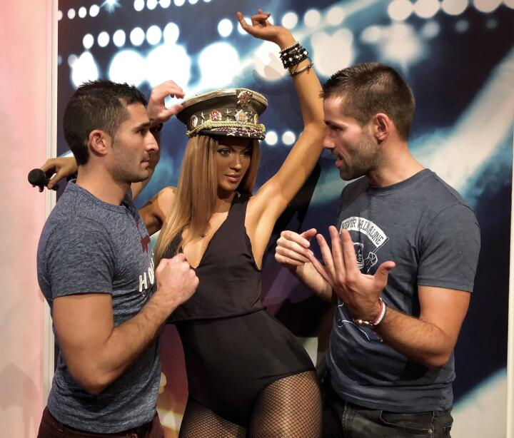 Beyonce gay icon at Madame Tussauds