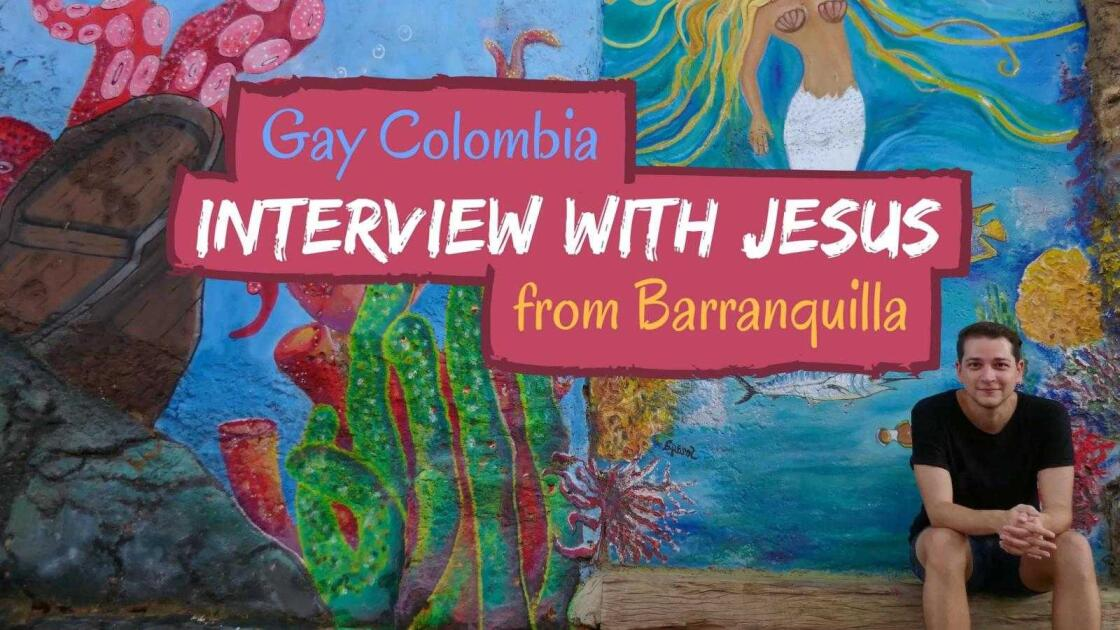 Gay Colombian boy Jesus tells about gay life in Colombia