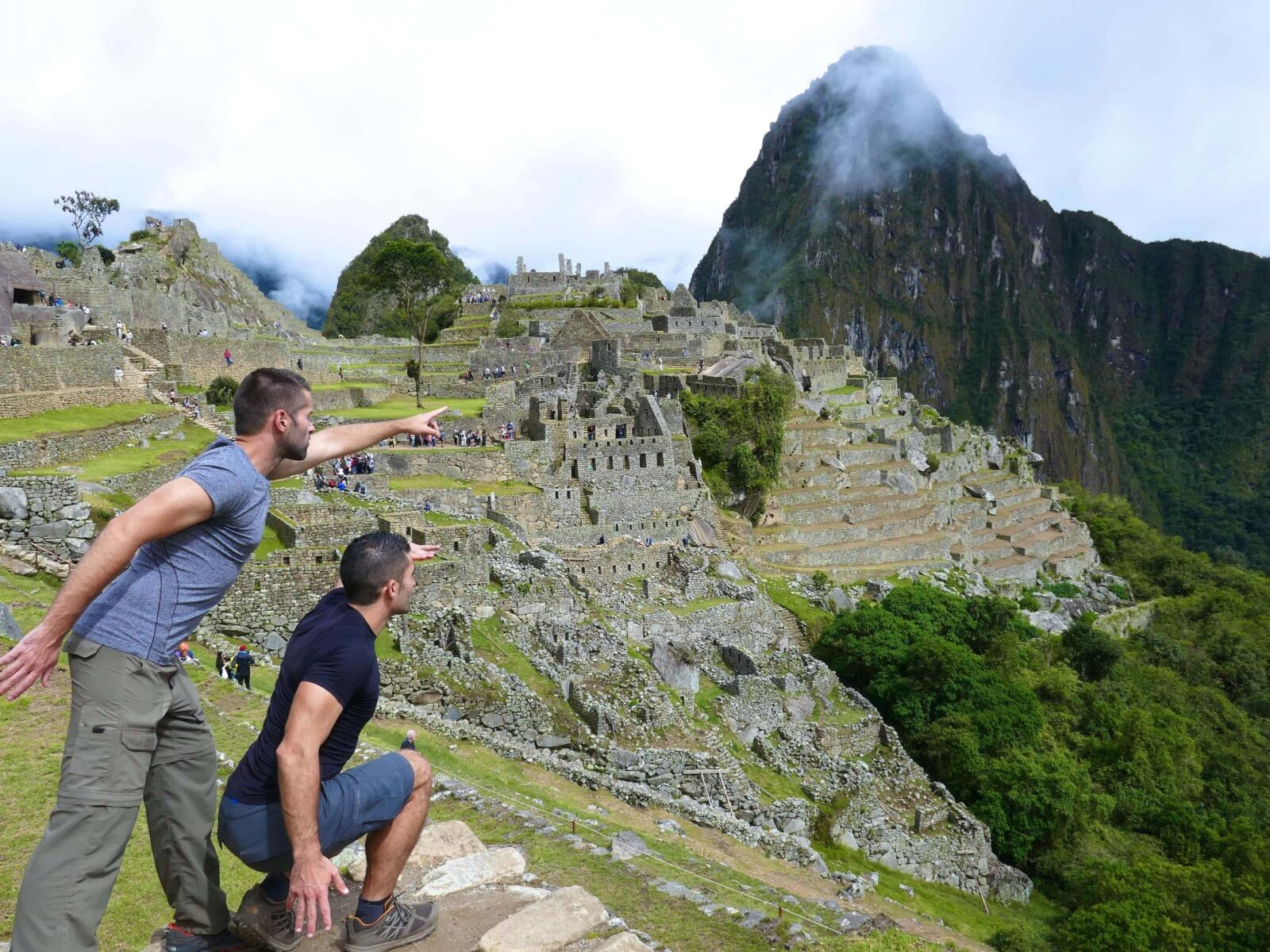 Machu Picchu is one of the highlights of South America.