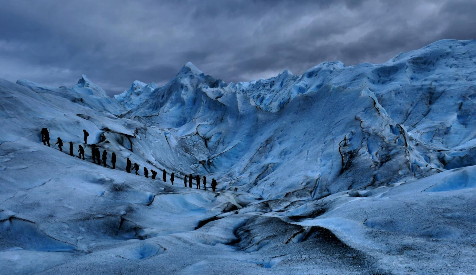 Perito Moreno, glacier one of the highlights of South America.
