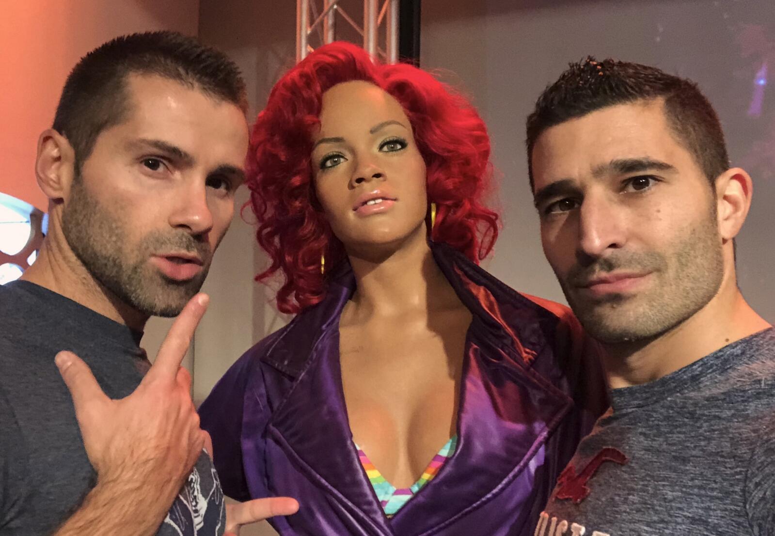 Rihanna gay icon at Madame Tussauds