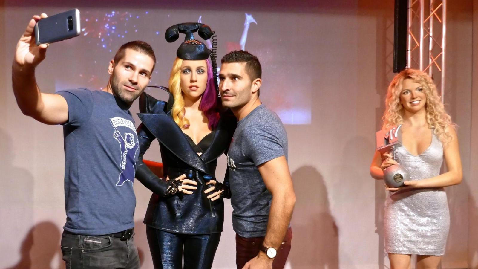 Lady Gaga Britney gay icons at Madame Tussauds