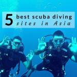 Our top 5 best scuba diving sites in Asia
