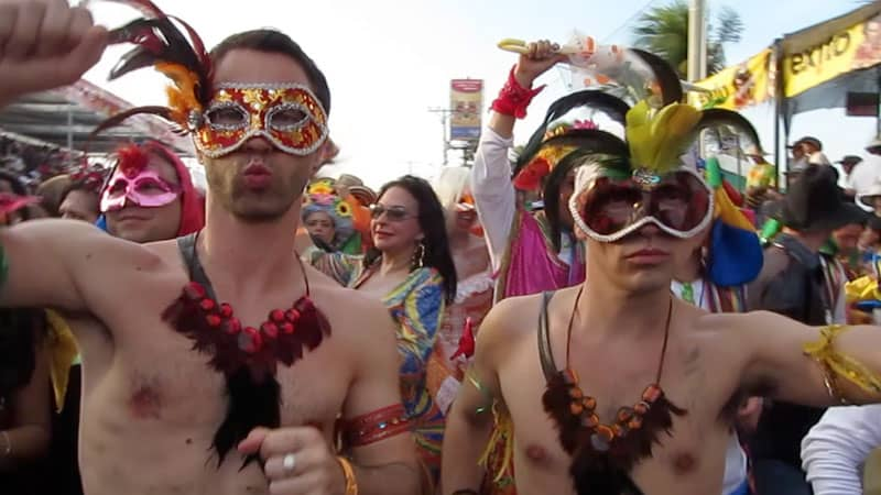 Gay life in Colombia Barranquilla's gay carnival