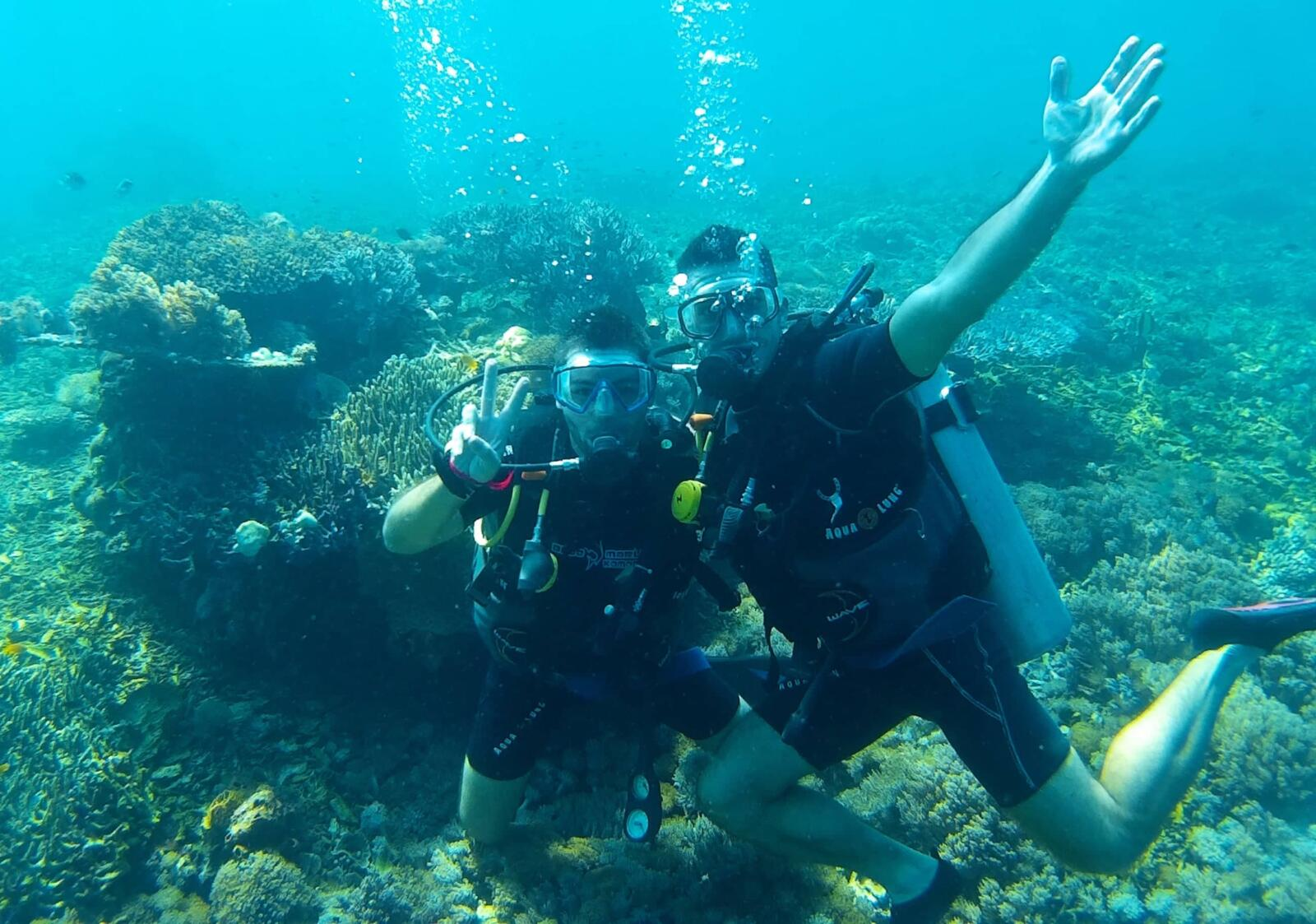 Koh Lanta one of our best scuba diving sites in Asia