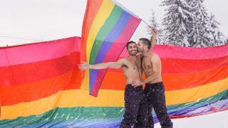 Whistler Pride 2021 gay ski festival