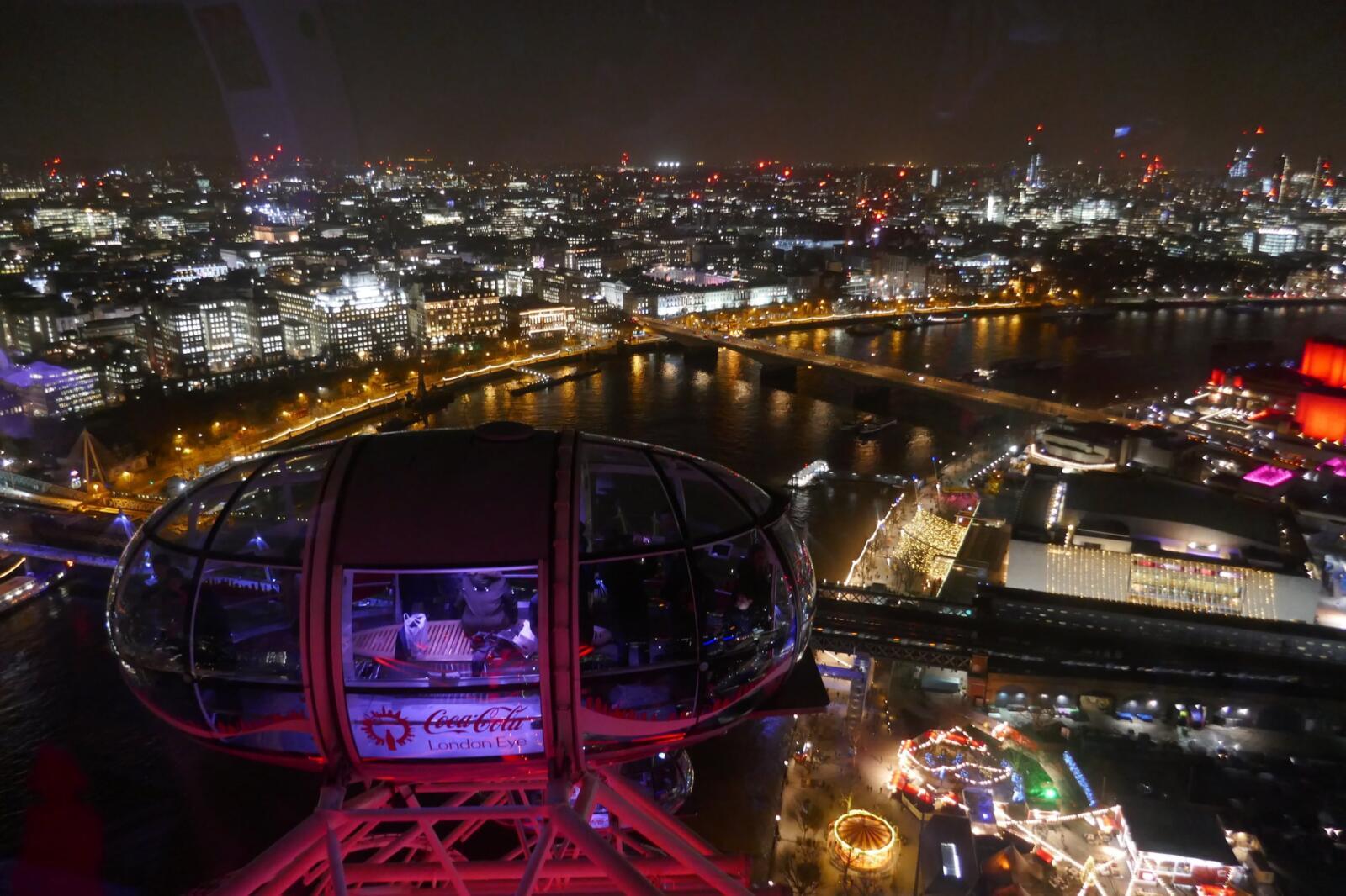 London Eye sightseeing highlights of London