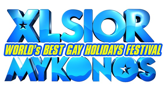 XLSIOR gay event in Mykonos