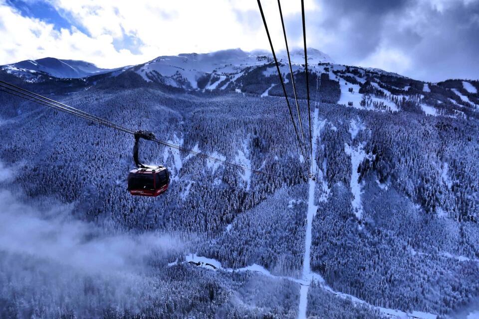 Whistler Pride Peak 2 Peak Gondola ride