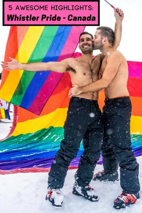 5 amazing things to do at Whistler Pride - Canada