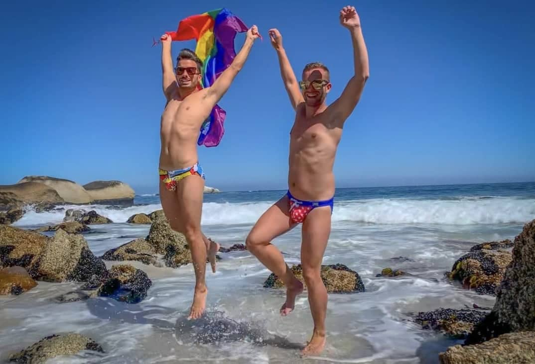 Sion and Ben gay travel bloggers