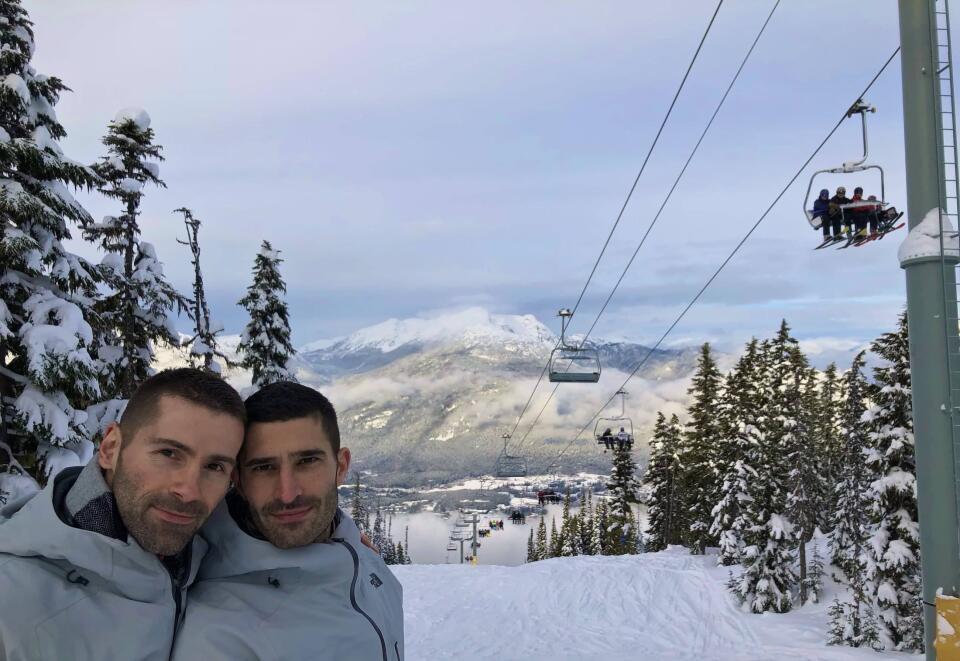 Skiing Whistler Pride Canada