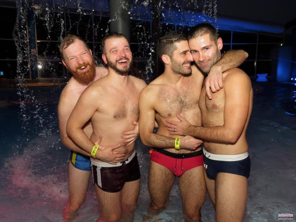 Whistler Pride pool party