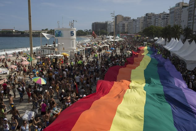 Rio has one of the best gay prides in Latin America.