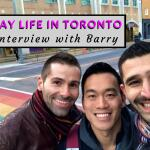 Gay Canada: interview with local boy Barry from Toronto