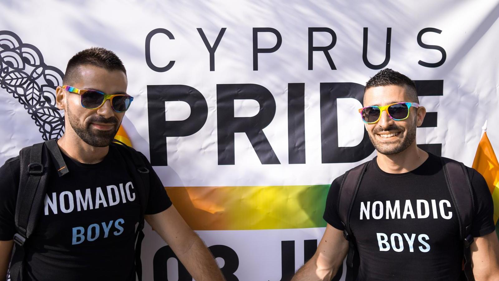 Cyprus has a gay Pride event that is getting better every year