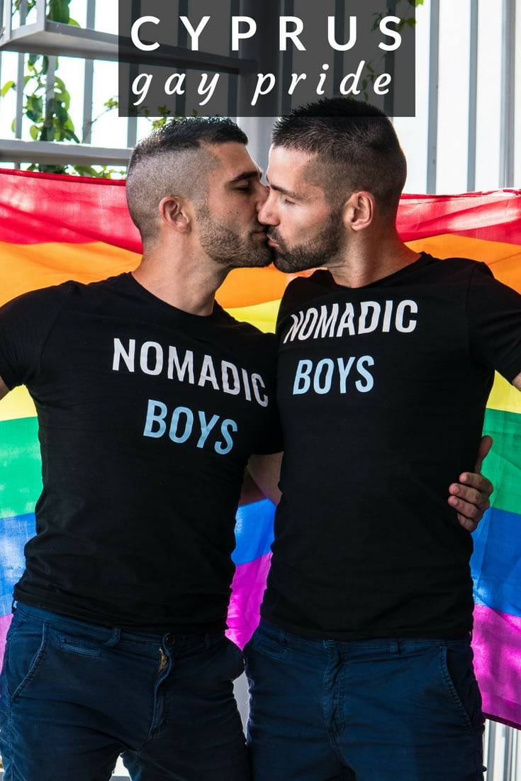 Nomadic Boys attend Cyprus Pride in Nicosia