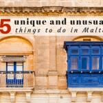 5 awesome unique and unusual things to do in Malta