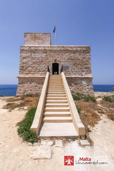 Dwejra Watchtower things to do in Malta