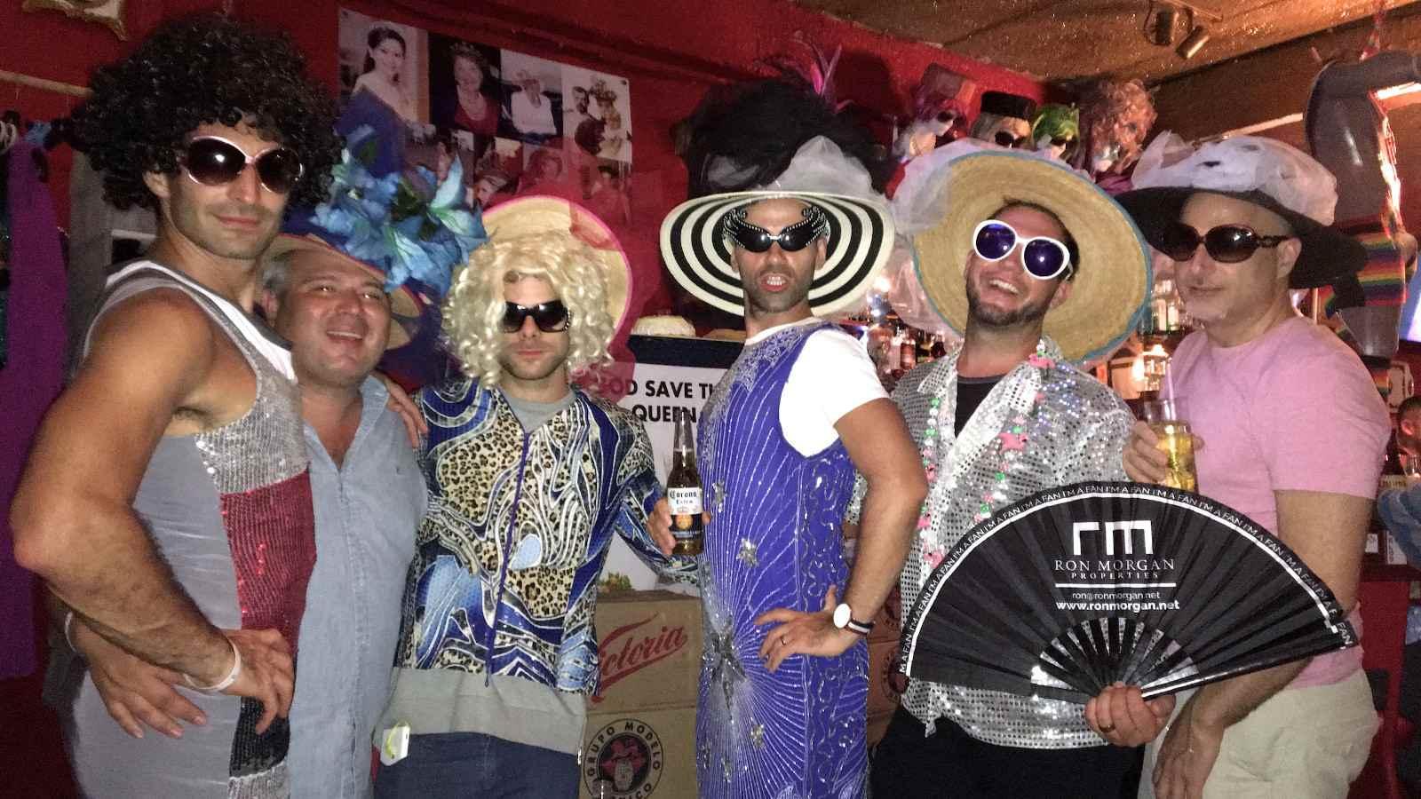 Reinas gay bar in the Zona Romantica gay neighborhood of Puerto Vallarta