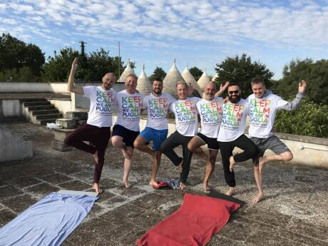 Gay yoga retreat in Ostuni one of best things to do in Puglia