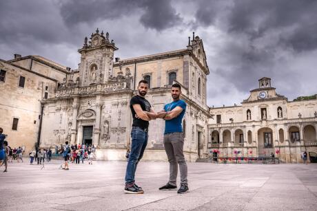 Lecce city tourist highlight of gay Puglia