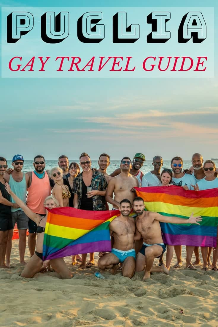 Pinterest gay Puglia travel guide