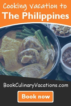 Book culinary vacation to the philippines