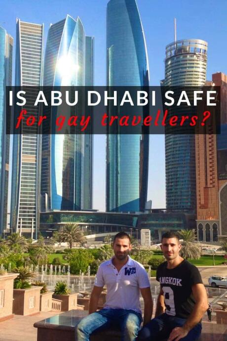 Is Abu Dhabi safe for gay travellers?