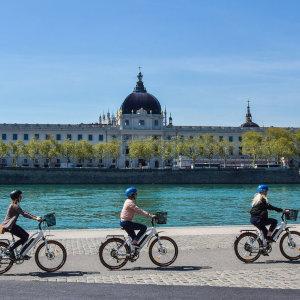 See the sights of Lyon on a fun E-bike tour!