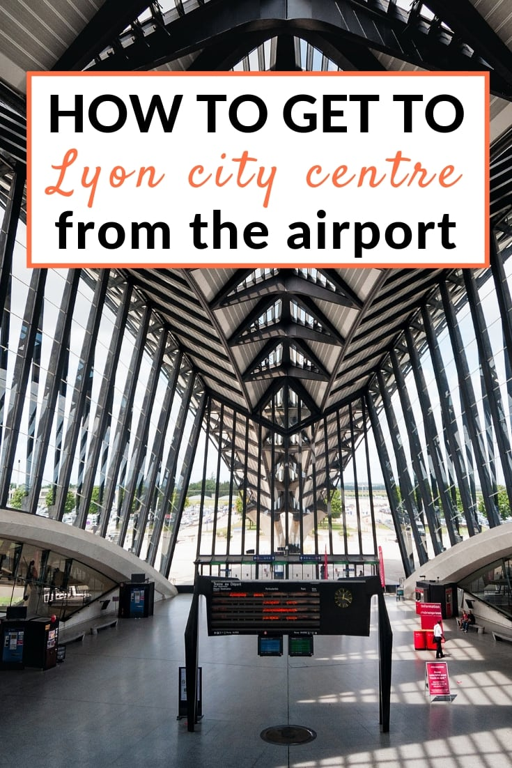 How to get from Lyon airport to the city centre guide