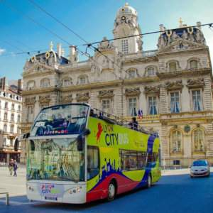 Get to know the city of Lyon on the quintessential hop-on and hop-off bus tour.