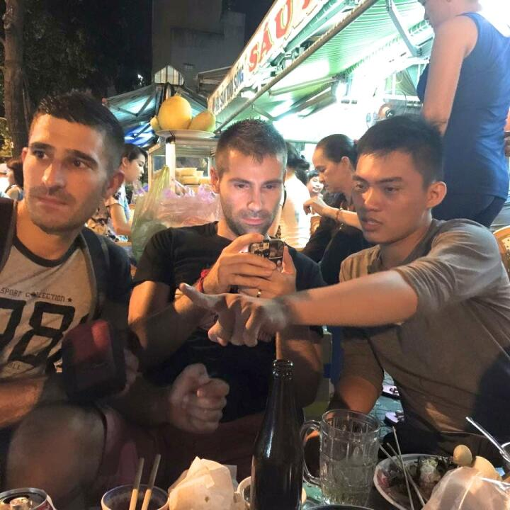 Discovering Saigon with locals