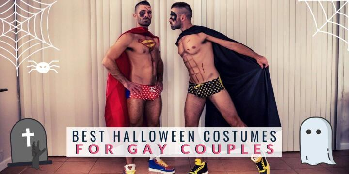 Our top 10 best gay couple Halloween costumes