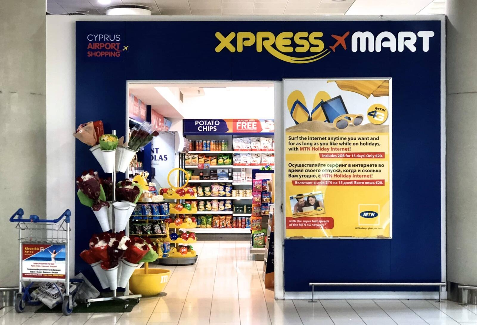 The Xpress Mart of Larnaca Airport