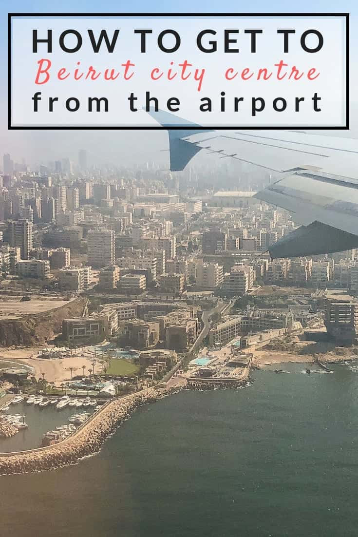 How to get from Beirut airport to the city centre